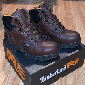 New Ladies Safety toe work boots